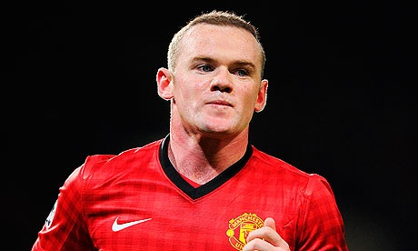 Manchester United's Wayne Rooney leads the league leaders.
