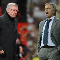 Manchester United's Sir Alex Ferguson and Real Madrid's Jose Mourinho square off in an epic Champions League Clash.