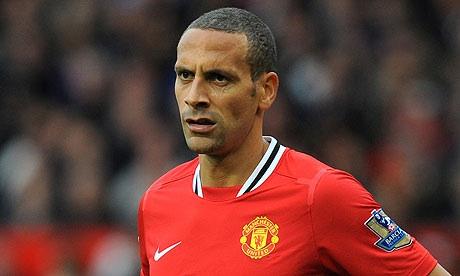 Manchester United's Rio Ferdinand