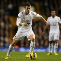 Tottenham's Gareth Bale in full flight