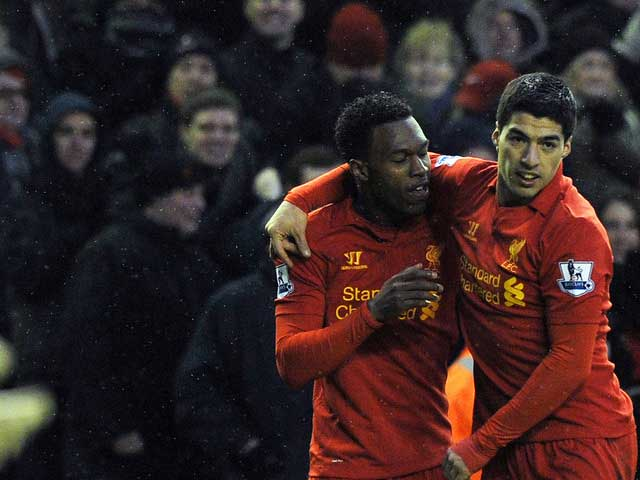Luis Suarez and Daniel Sturridge have formed a lethal partnership up front for Liverpool