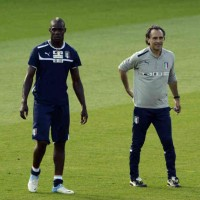 Cesare Prandelli proud with Balotelli