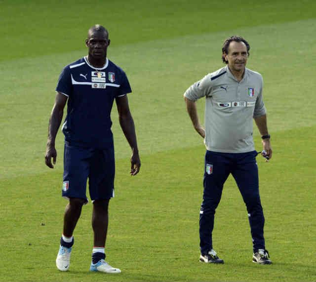 Cesare Prandelli praises Mario Balotelli for his work against Malta and believes he will go far in football