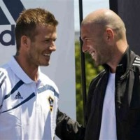 David Beckham looks up to Zizou as his role model and very good friend