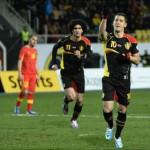 Macedonia 0 : 2 Belgium Highlights