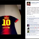 El Shaarawy: Messi gave me his shirt after the game