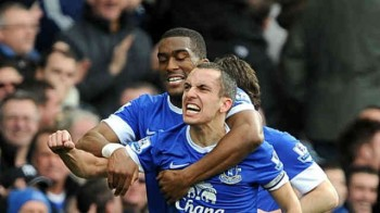 Everton blow Manchester City hopes of winning the title
