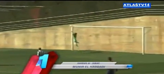 Fc Barcelona junior very Amazing Goal by young Moroccan player Munir el haddadi