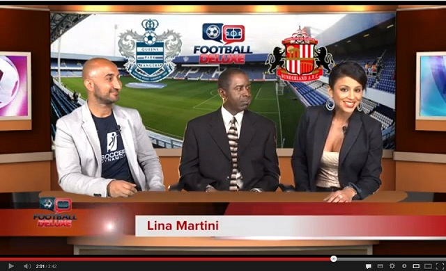 Football Deluxe talking Point-This week our hosts are Lina Martini, Ali Sadjady and Roderick Scott for a QPR Vs Sunderland prediction