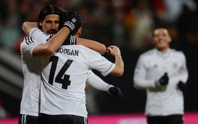 Germany, again playing without a recognised striker, hit three goals in eight minutes in a 4-1 defeat of Kazakhstan