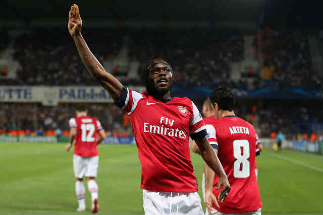 It looks like the Ivorian Coast international time is over with Arsenal