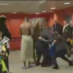 Mario Balotelli No Clothes walks around Press Zone OFFICIAL VIDEO