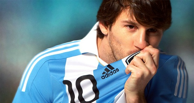 Lionel Messi admits he has not always performed to the best of his ability for Argentina.