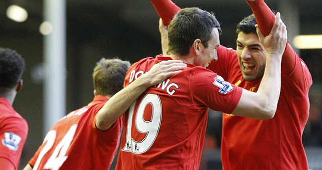 Liverpool came from 2-1 down to beat Tottenham Hotspur 3-2 thanks to a late Steven Gerrard penalty.