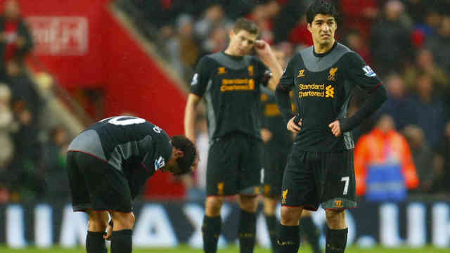 Liverpool disappointed with their defeat against Southampton