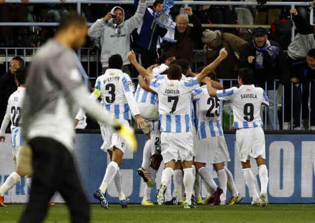 Malaga make it to the quarter finals