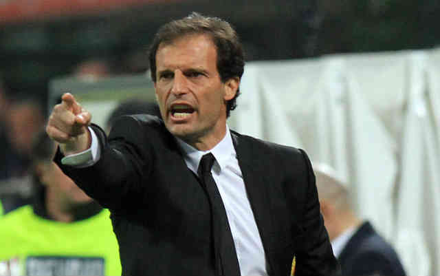 Massimiliano Allegri gives respect for Barcelona on their play at the Champions League play off in the Nou Camp