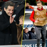 Nicolas Sarkozy invites David Beckham for dinner