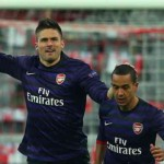 Arsenal: Giroud flies to the rescue of Wenger