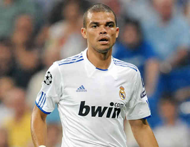 Pepe is happy to see that the young Raphael Varane is playing as a world class in Real Madrid