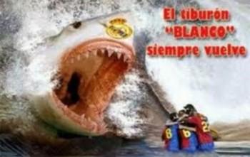 Real Madrid Varane and Morata are like an aggressive white shark waiting to swallow Barcelona.
