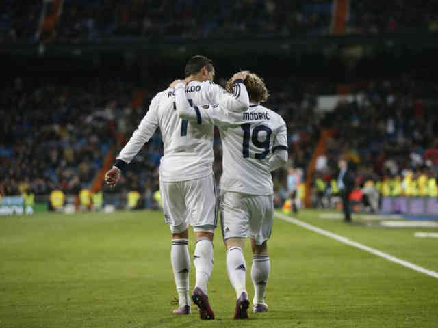 Ronaldo and Modric yet again score two amazing goals