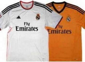 The new jerseys 2013/2014 of Real Madrid and Barcelona unveiled
