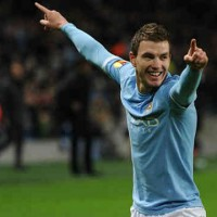 There are high chances for Edin Dzeko to go back to Germany and to be with Dortmund