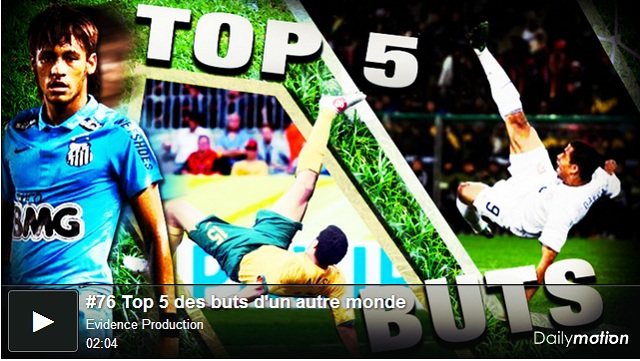 Top 5 goals from all around the world #9
