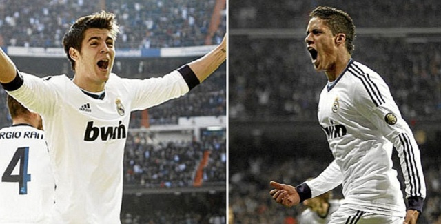Two youngsters were key in the two consecutive victories against Barcelona in the Clasicos last week. Their names are Raphael Varane, aged 19 and Álvaro Morata, aged 20.