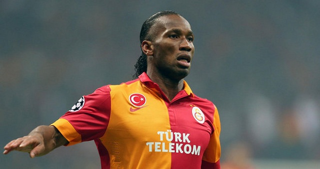 Didier Drogba's Galatasaray beat Schalke 04, 3-2, to advance to the Champions League quarterfinals with a 4-3 victory on aggregate.l