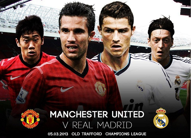 Watch Manchester-united-vs-real-madrid live at 7.45PM GMT
