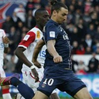 Zlatan Ibrahimovic continues to dominate the match and also become one of the highest goal scorers in the French league