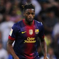 Alex Song frustrated at Barcelona