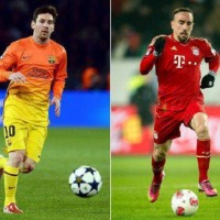 Bayern Munich winger Franck Ribery believes Lionel Messi is in a class of his own ahead of his side's clash against Barcelona