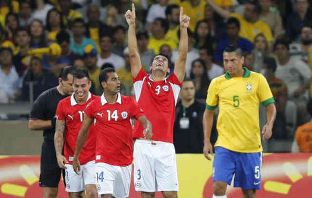 Brazil fans boo their players as they did not perform well