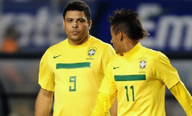 Brazilian legend Ronaldo has strongly hinted Santos prodigy Neymar is set for a Barcelona move.