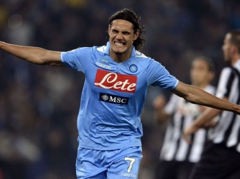 Edinson Roberto Cavani Gómez (born 14 February 1987) is an Uruguayan footballer who plays as a forward for Napoli and the Uruguayan national team. A very prolific goalscorer, Cavani is well known for ability to score impressive goals and his tireless work-rate. In 2012, Cavani was listed 10th in The Guardian 's list of The 100 best footballers in the world. Cavani began his career playing for Tigre in Buenos Aires, where he played for two years, before moving to Italian side Palermo in 2007. He spent four seasons at the club, scoring 34 goals in 109 league appearance. In 2010, Cavani signed for Napoli, who signed him on an initial loan deal before buying him for a total fee €17 million. In the 2011–12 season, he won his first club honour, the Coppa Italia, in which he was top scorer with 5 goals. With Napoli, Cavani went on to score 33 goals each in his first two seasons. Cavani is a Uruguayan international and made his debut and scored against Colombia on 6 February 2008. He has since participated in two major tournaments, the 2010 FIFA World Cup and the 2011 Copa América. He scored once at the 2010 FIFA World Cup, to help Uruguay to forth place in the tournament. He went on to win the 2011 Copa América with Uruguay, being part of the Uruguay squad, that won a record 15th Copa América title.