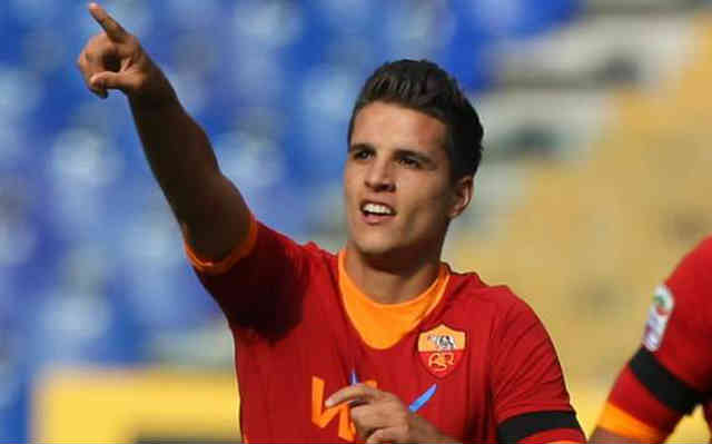Erik Lamela has found favour from Manchester United