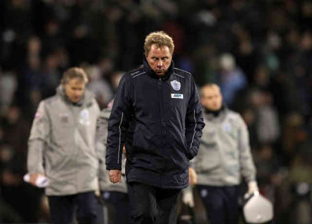Harry Redknapp is disappointed with the result as he believed that QPR deserved to get a win