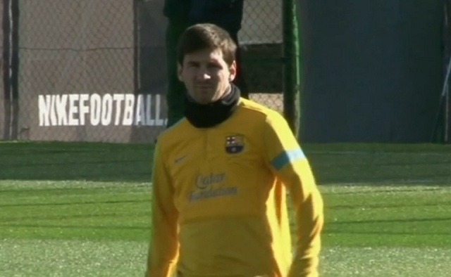 In an internal report from 2002, the fitness instuctors of Barça reported that Leo Messi was the player the less involved in training sessions.