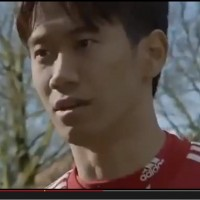Kagawa's head-spinning commercial sees the playmaker starring alongside a talking dolphin and a goalscoring dog.
