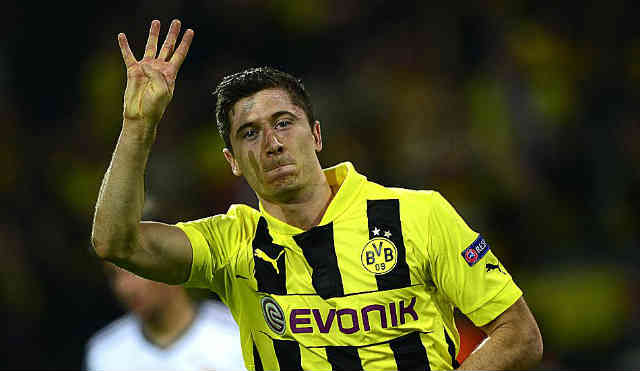 Lewandowski has brought about a miracle for Dortmund by conceding four goals against Real Madrid