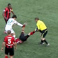Linesman Musa Kadyrov banned for life after attacking Ilya Krichmar