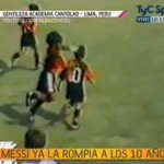 Messi 10 years old amazing skills