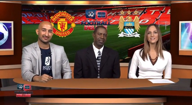 Manchester United vs Manchester City - who will win the Manchester derby- Watch Football Deluxe Talking Point with Ali Sadjady, Allie Glenn and Roderick Scott
