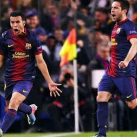Barcelona 1 : 1 Paris St. Germain Highlights