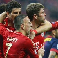 Bayern Munich 4 : 0 Barcelona Highlights