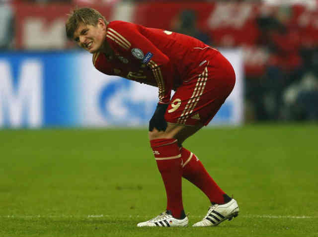 Toni Kroos could be out for the rest of the season because of a hamstring injury which was against Juventus