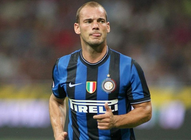 Wesley Sneijder time at Inter Milan propelled him into the very best players in the world